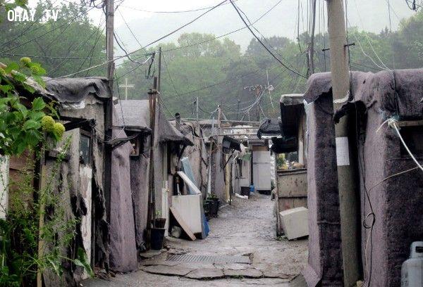 khu ổ chuột lớn nhất Hàn quốc và không xuất hiện trên bản đồ