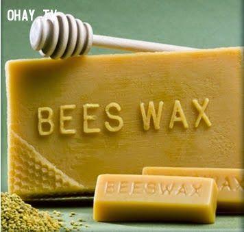 Sáp ong làm son gấc handmade