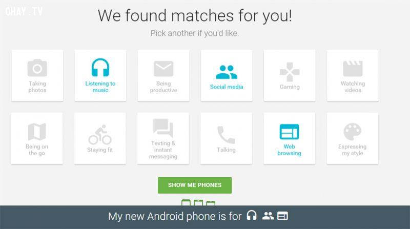 Trắc nghiệm: Điện thoại Android nào phù hợp với bạn?