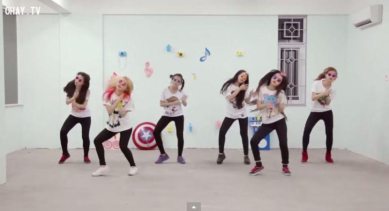 ảnh vũ điệu con kẹc,cách nhảy vũ điệu con kẹc,học nhảy,video hài hước