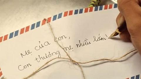 Xách ba lô lên và đi, tôi chỉ gửi lại mẹ một lá thư.. không dài.