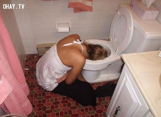 Đây là nơi thích hợp để ngủ cho những người uống quá nhiều rượu