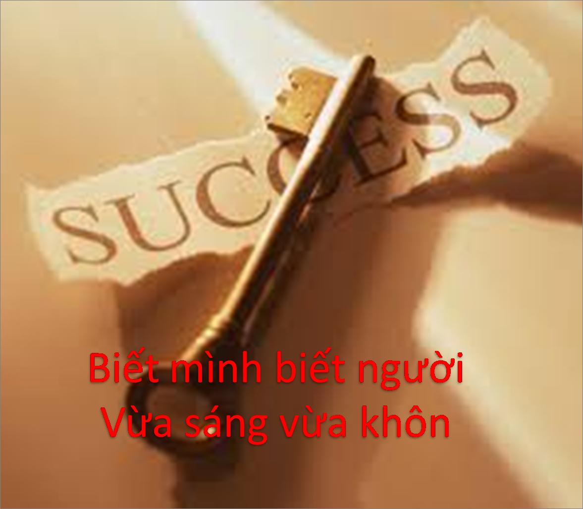 Tại sao thất bại tại sao thành công