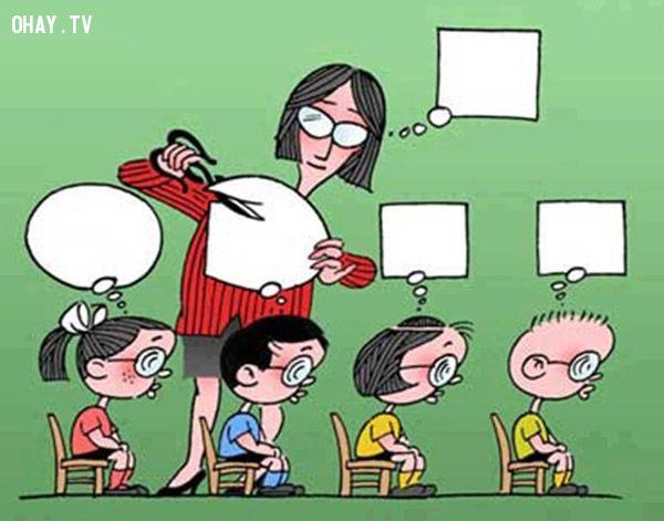 ảnh giáo dục,bất cập giáo dục,cách giáo dục