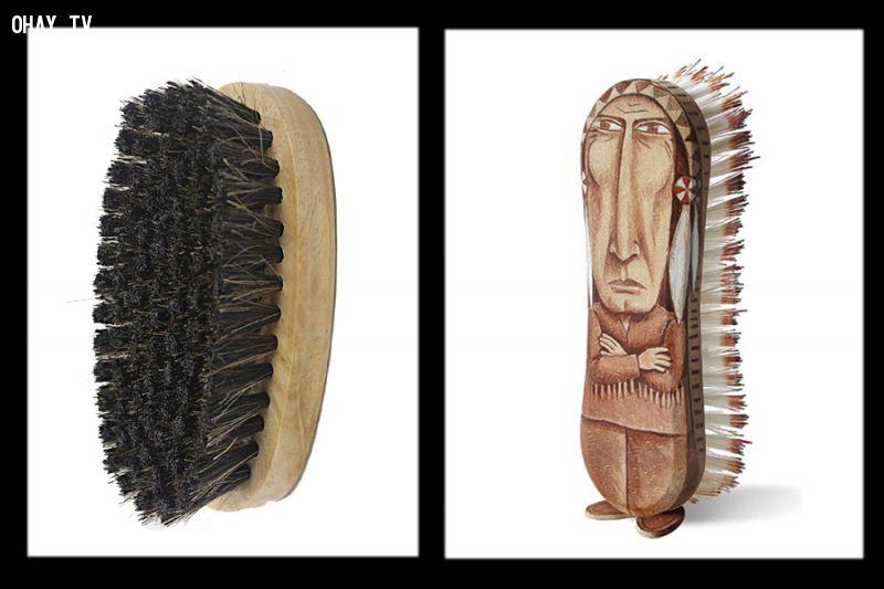 Bàn chải và thổ dân - Sáng tạo nghệ thuật thú vị của Gilbert Legrand