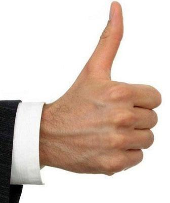 Biểu tượng ngón tay giống với nút Like của Faceook nhưng ở Úc nó lại không phải vậy!