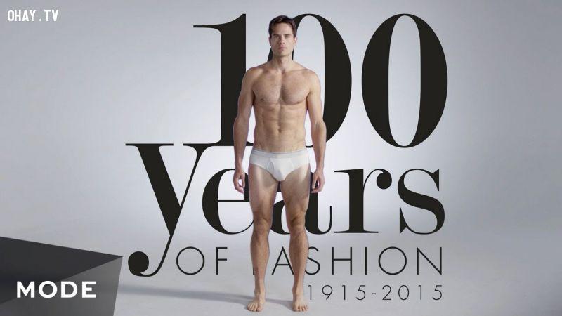 ảnh trang phục quý ông,video 100 năm,đàn ông,thời trang nam
