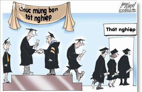 ảnh tốt nghiệp,cử nhân,thất nghiệp,sinh viên thất nghiệp,cử nhân thất nghiệp,hệ lụy xã hội