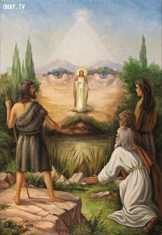 ảnh ảo ảnh,thị giác,Oleg Shuplyak,tranh sơn dầu,đánh lừa thị giác