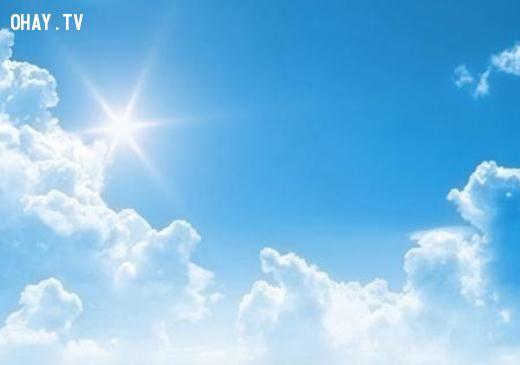 Xanh da trời là màu chủ đạo của trái đất