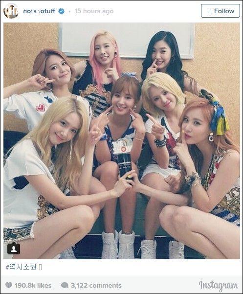 Hình ảnh ăn mừng của nhóm được đăng tải trên Instagram