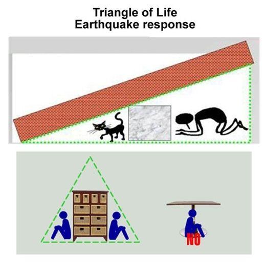 ảnh tam giác cứu mạng,kỹ năng sinh tồn
