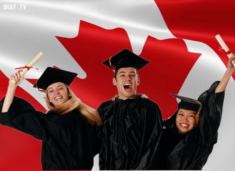 Canada có nhiều người tốt nghiệp đại học nhất