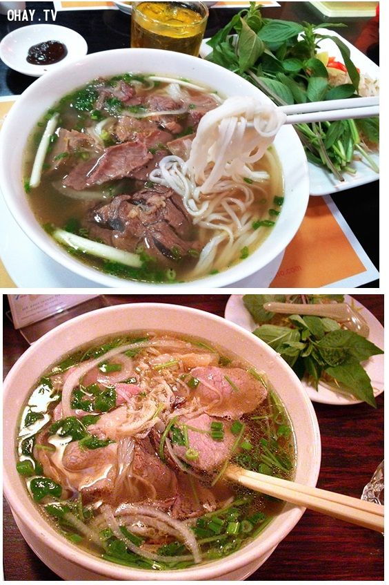 Món ăn Việt Nam nổi tiếng
