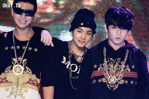 Rap Monster, Suga, Jung Kook