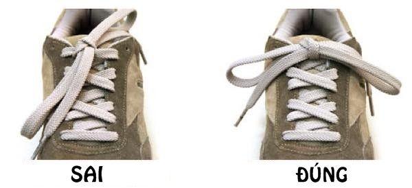 Mẹo thắt giày chuyên nghiệp