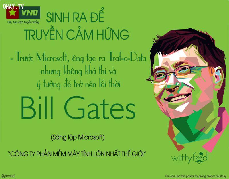 Chủ tịch tập đoàn Microsoft Bill Gates