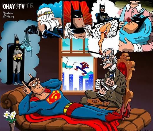 ảnh siêu nhân,nỗi niềm của siêu nhân,nổi khổ của siêu nhân,ảnh chế siêu nhân,ảnh chế