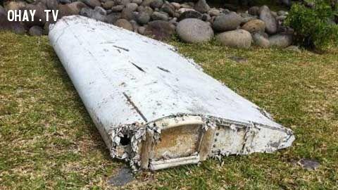 Hình ảnh được cho rằng là 1 phần cánh lái của chiếc boeing 777 MH370
