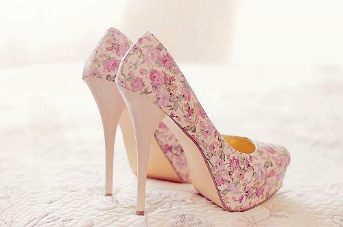 giày cao gót, 12cm, cô gái nên có
