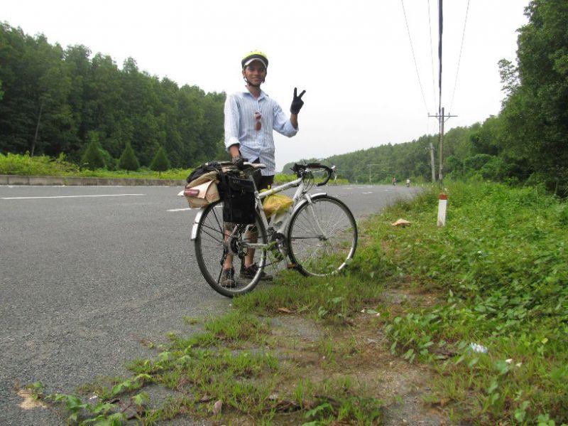 ảnh đạp xe,đạp xe sài gòn cần giờ
