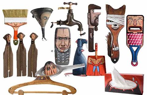 Sáng tạo nghệ thuật thú vị của Gilbert Legrand