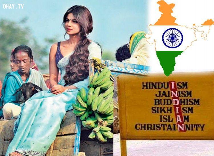Ấn Độ là quốc gia đa dạng nhất