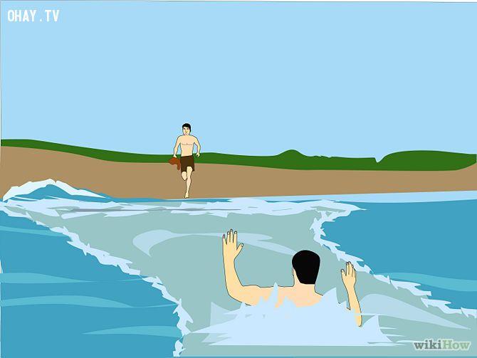 ảnh sóng xa bờ,kỹ năng sinh tồn,an toàn khi đi biển