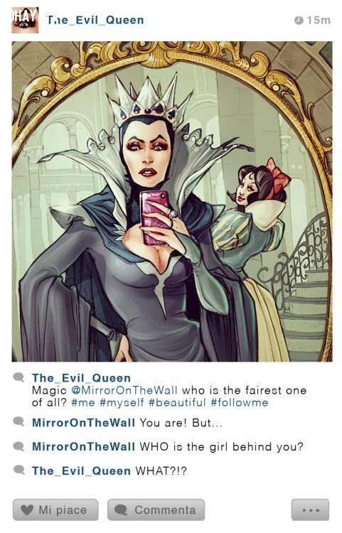 the evil queen's instagram