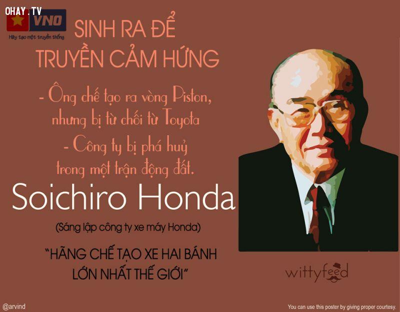 Ông chủ của đế chế Honda