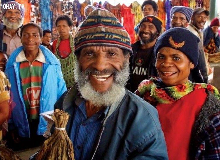 Papua New Guinea là quốc gia có nhiều ngôn ngữ nhất