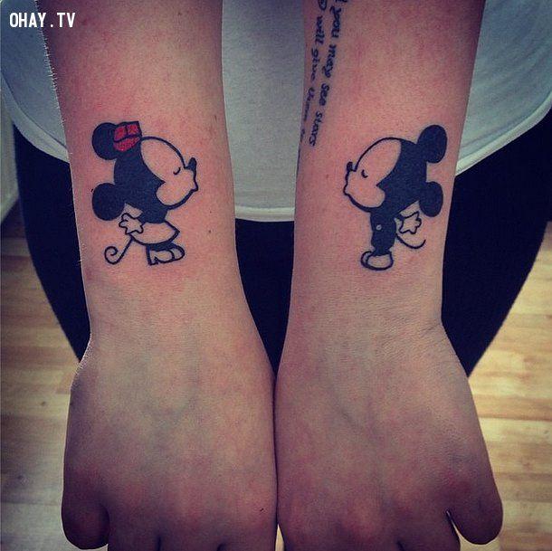 ảnh hình xăm Disney,hình xăm,hình xăm đẹp,hình xăm cho nữ