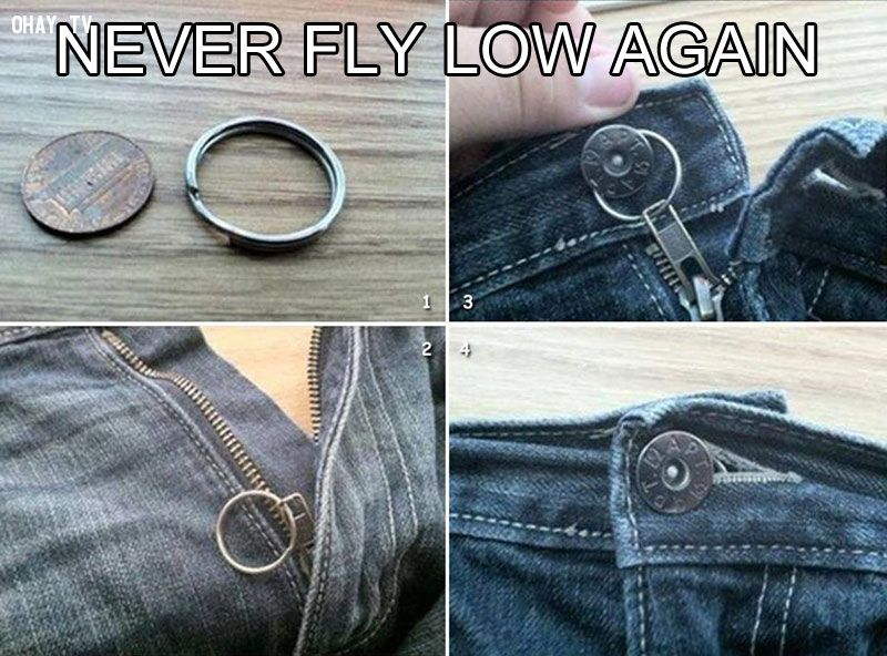 31. Never fly low again!