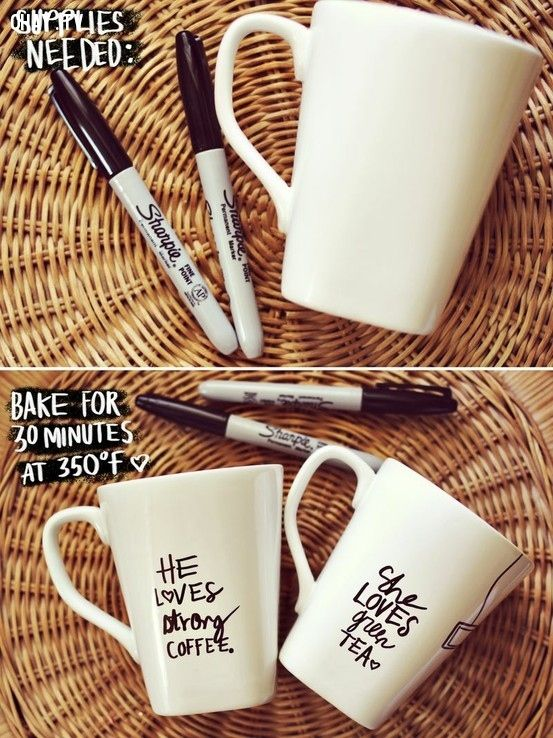 34. Make a Sharpie Mug