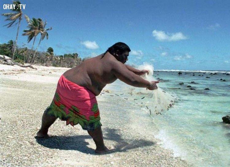 Nauru là quốc gia béo phì nhất