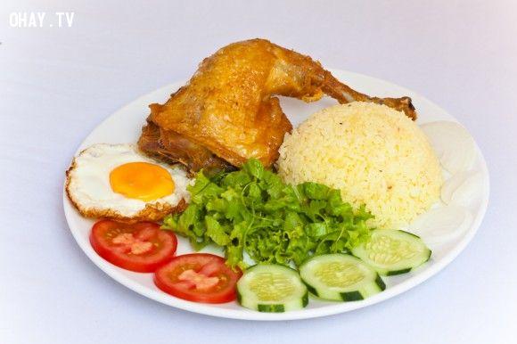 ảnh cơm gà,cơm gà nổi tiếng,cơm gà ở đâu ngon,các món cơm gà