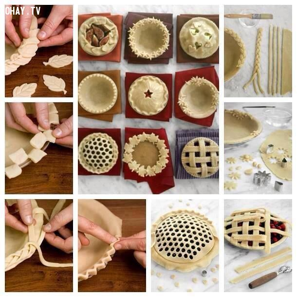 ảnh cách làm bánh ngon,bánh đẹp mắt,làm bánh,cách làm bánh,tạo hình cho bánh