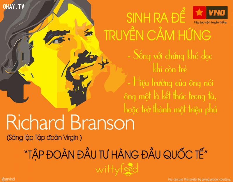 Tỷ phú liều lĩnh nhất thế giới Richard Branson