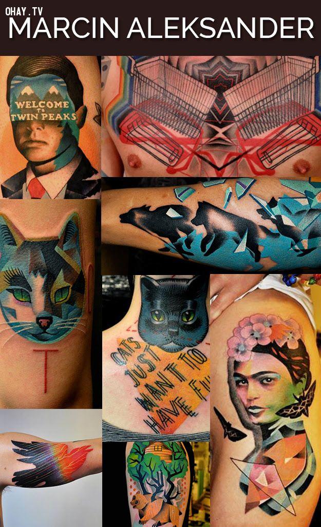 ảnh hình xăm,nghệ sỹ,nghệ nhân,xăm nghệ thuật,xăm hình đẹp nhất,nghệ sĩ xăm