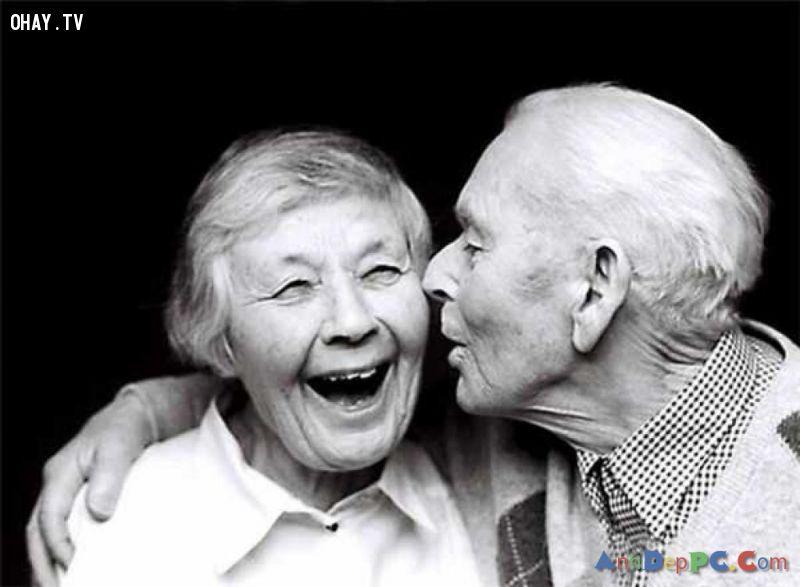 ảnh nụ cười,tuổi già,người già