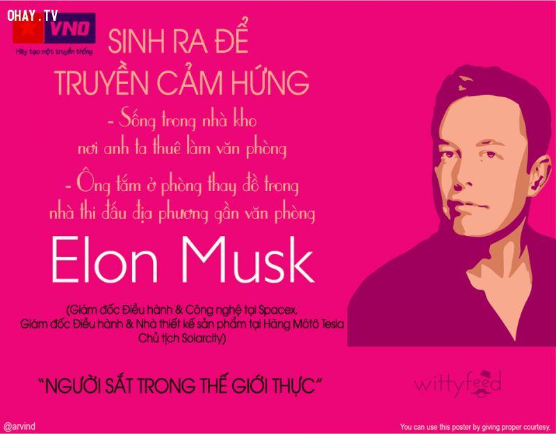 Elon Musk được xem là Steve Jobs thứ 2