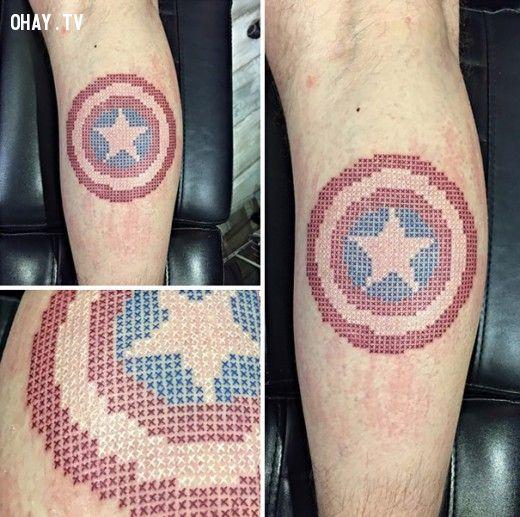 ảnh hình xăm,xăm chữ thập,xu hướng hình xăm,xu hướng xăm,kiểu xăm mới,tattoo 2015,hình xăm 2015