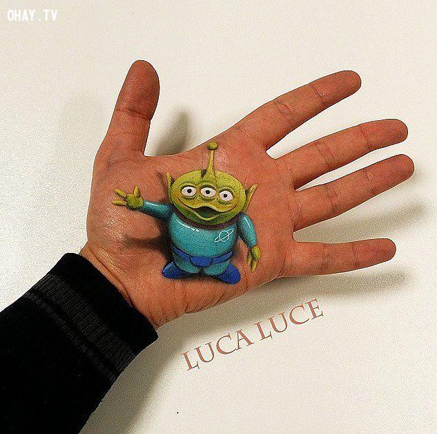 ảnh tranh 3d,nghệ thuật 3d,tranh vẽ 3d,kiệt tác 3d,Luca Luce,sáng tạo