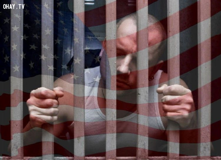 Mỹ là nước có số lượng tù nhân nhiều nhất