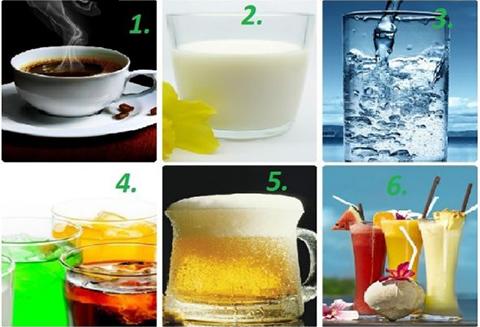 Chọn một thức uống bạn thích nhất, mình sẽ đoán về con người bạn!
