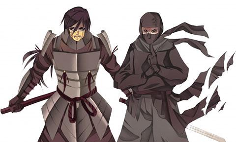 Sự khác nhau giữa Ninja và Samurai