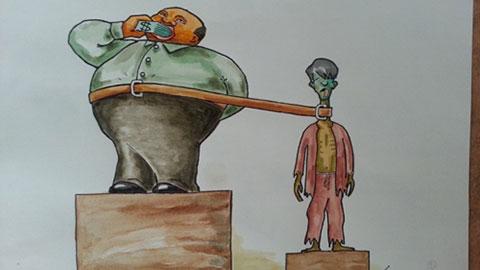 18 bức tranh biếm họa sâu cay nhất về nạn tham nhũng