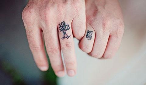 Xăm ngón tay không còn xa lạ!!!