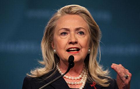 Khả năng bà Hillary Clinton làm tổng thống Mỹ ngày càng cao
