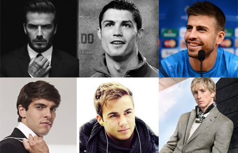 Top 10 cầu thủ bóng đá đẹp trai nhất thế giới
